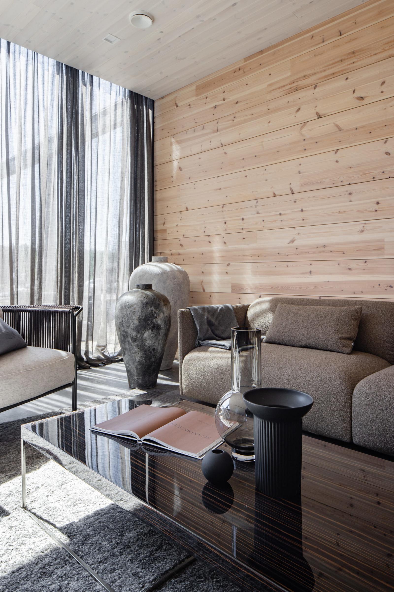 Kontio Hill House Tuusulan asuntomessukohde olohuone yksityiskohta
