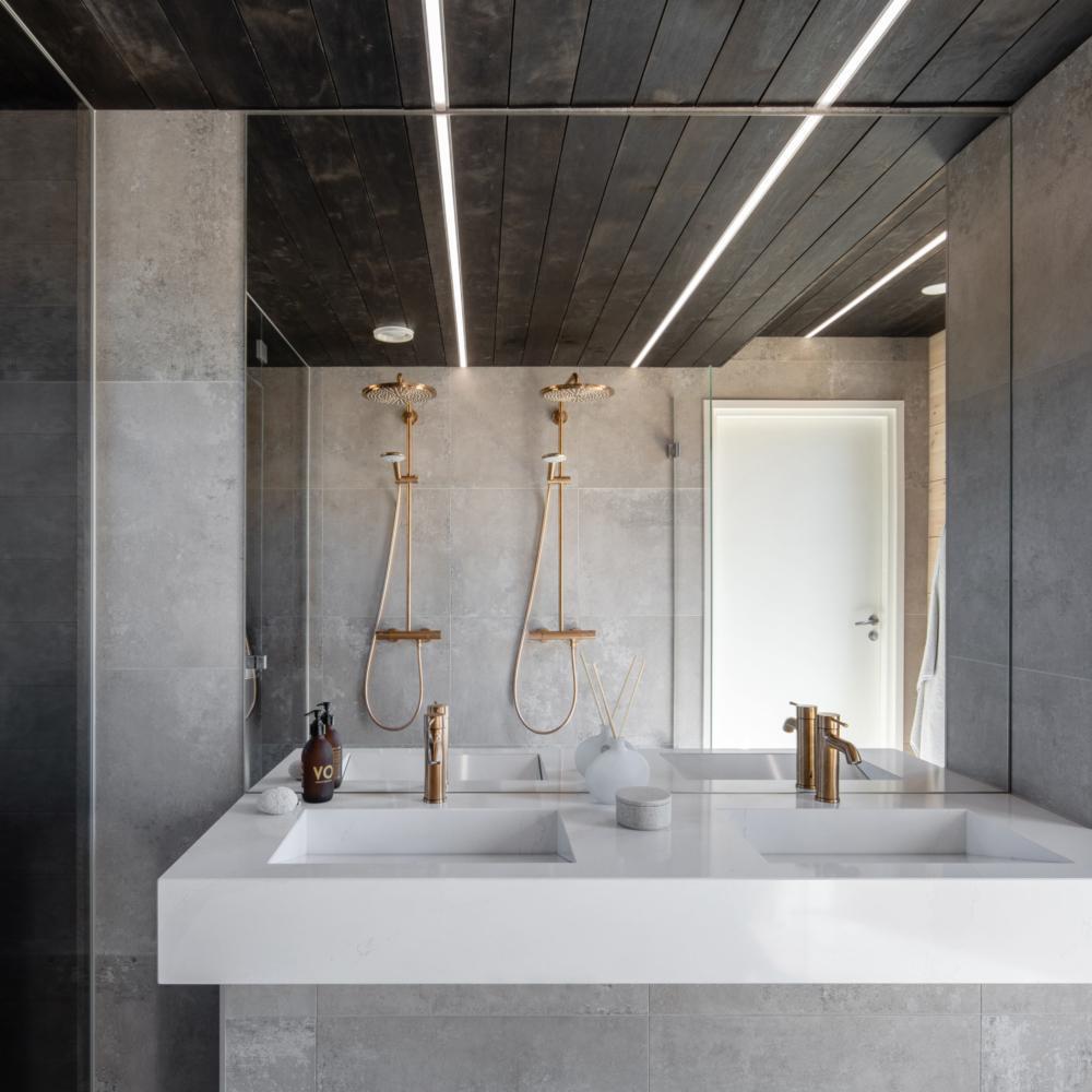 Kontio Hill House Tuusulan asuntomessukohde kylpyhuone