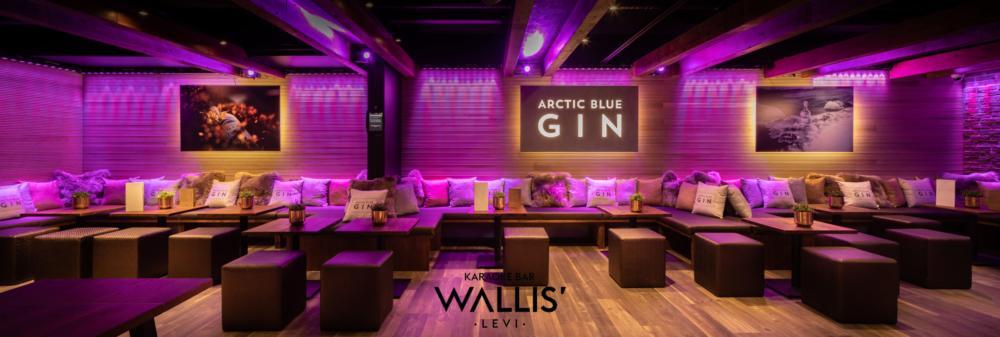 Ravintolakuvaus Wallis Karaoke Bar Levi