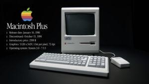 Apple Macintosh Plus tuotevideo