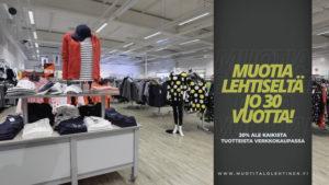 Muotitalo Lehtinen tv-mainos